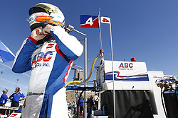 February 9, 2018 - Avondale, Arizona, United States of America - February 09, 2018 - Avondale, Arizona, USA: Matheus Leist (4) puts on his helmet and prepared to take to the track for the Prix View at ISM Raceway in Avondale, Arizona. (Credit Image: © Justin R. Noe Asp Inc/ASP via ZUMA Wire)