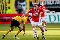 KERKRADE - 20-11-2016, Roda JC - AZ, Park Stad Limburg Stadion, 1-1, Roda JC speler Marcos Gullon, AZ speler Ben Rienstra