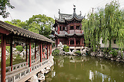 Dianchun Hall in Yu Yuan Gardens Shanghai, China