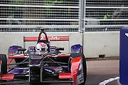 Fabio Leimer during the FIA Formula E Visa London ePrix  at Battersea Park, London, United Kingdom on 28 June 2015. Photo by Matthew Redman.