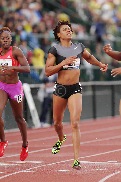 Olympic Trials Eugene 2012: Dunn, womens 400