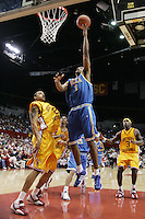 29 January 2005: Dijon Thompson of UCLA makes a layup as UCLA beat USC 72-69 at the Sports Arena in Los Angeles, CA