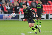 Forest Green Rovers Jack Aitchison(29), on loan from Celtic on the ball during the EFL Sky Bet League 2 match between Salford City and Forest Green Rovers at Moor Lane, Salford, United Kingdom on 28 September 2019.