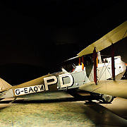 Planes on display at the Australian War Memorial in Canberra, Australia
