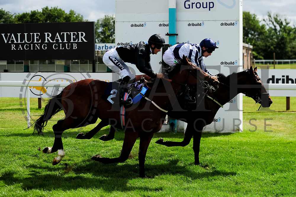 Calbuco ridden by Harry Bentley and trained by Rod Millman in the Ebf Maiden Stakes (Class 5) race. Born For Fun ridden by Luke Morris and trained by Ali Stronge in the Ebf Maiden Stakes (Class 5) race. - Ryan Hiscott/JMP - 07/08/2019 - PR - Bath Racecourse - Bath, England - Race Meeting at Bath Racecourse