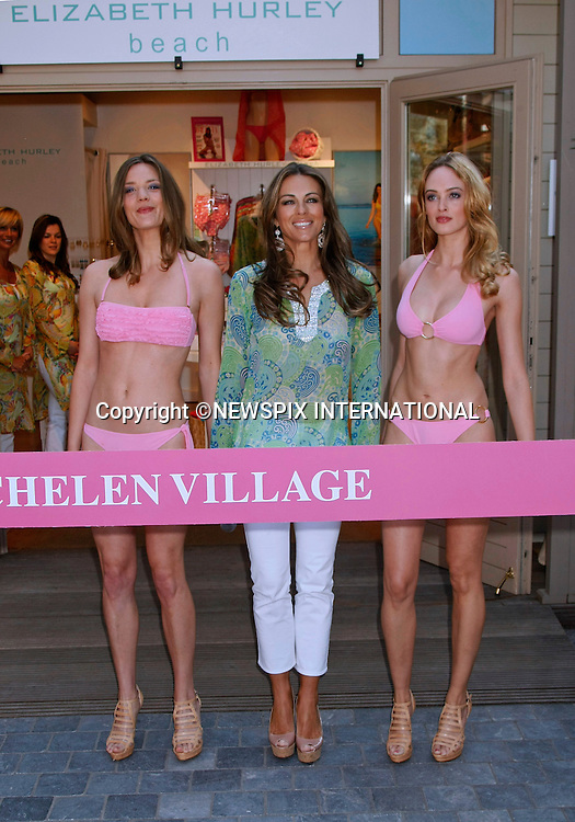 "ELIZABETH HURLEY.opens another of her Beach Store in Maasmechelen Village, Belgium_18/04/2011.Mandatory Photo Credit: ©A Rolland/Newspix International..**ALL FEES PAYABLE TO: ""NEWSPIX INTERNATIONAL""**..PHOTO CREDIT MANDATORY!!: NEWSPIX INTERNATIONAL(Failure to credit will incur a surcharge of 100% of reproduction fees)..IMMEDIATE CONFIRMATION OF USAGE REQUIRED:.Newspix International, 31 Chinnery Hill, Bishop's Stortford, ENGLAND CM23 3PS.Tel:+441279 324672  ; Fax: +441279656877.Mobile:  0777568 1153.e-mail: info@newspixinternational.co.uk"