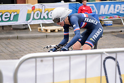 Marie Le Net at UCI Road World Championships Junior Women's Individual Time Trial 2017 a 16.1 km time trial in Bergen, Norway on September 18, 2017. (Photo by Sean Robinson/Velofocus)