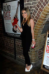 Sian Welby during Blind Date - press night, Charing Cross Theatre,  London, United Kingdom, 04 June 2013. Photo by Chris Joseph / i-Images.