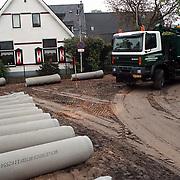 Werkzaamheden hoek Hellingstraat - Noorderweg