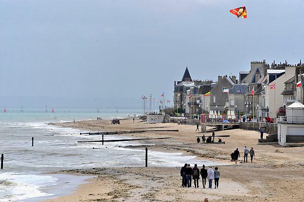 Frankrijk, Lion sur mer, 11-5-2013Serie over de invasie door de geallieerden op de stranden van Normandie, 6 juni 1944. Bevrijding, herdenking, 2e, tweede wereldoorlog, oorlog, atlantik wall, dday, d-day, d dayFoto: Flip Franssen/Hollandse Hoogte