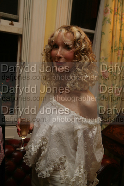 Basia Briggs, Richard and Basia Briggs host a party to celebrate Leopold the Horse's 21st Birthday. 35 Sloane Gdns. London SW1. -DO NOT ARCHIVE-© Copyright Photograph by Dafydd Jones. 248 Clapham Rd. London SW9 0PZ. Tel 0207 820 0771. www.dafjones.com.