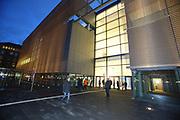 Mannheim. 15.12.17 |<br /> Kunsthalle. Neubau. Nachtaufnahmen von Aussen mit der Mesh-Fassade. Eröffnung<br /> <br /> Bild-ID 021 | Markus Proßwitz 15DEC17 / masterpress