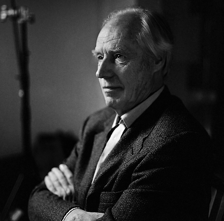 Sir George Martin at the St. Martins Lane Hotel 2001