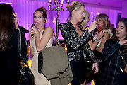 DASHA ZHUKOVA; SOPHIA HESKETH; NOOR FARES , An evening at Sanderson to celebrate 10 years of Sanderson, in aid of Clic Sargent. Sanderson Hotel. 50 Berners St. London. W1. 27 April 2010 *** Local Caption *** -DO NOT ARCHIVE-© Copyright Photograph by Dafydd Jones. 248 Clapham Rd. London SW9 0PZ. Tel 0207 820 0771. www.dafjones.com.<br /> DASHA ZHUKOVA; SOPHIA HESKETH; NOOR FARES , An evening at Sanderson to celebrate 10 years of Sanderson, in aid of Clic Sargent. Sanderson Hotel. 50 Berners St. London. W1. 27 April 2010
