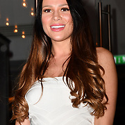 Ellie Jones attend TMA Talent Management Group host launch party for their new dating app, The List at 100 Wardour Street  on 3rd April 2019, London, UK.