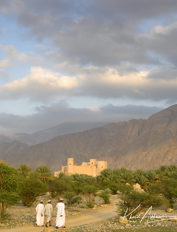 Nakhal Fort, Al Batinah South Governorate is one of beautiful forts in Oman.