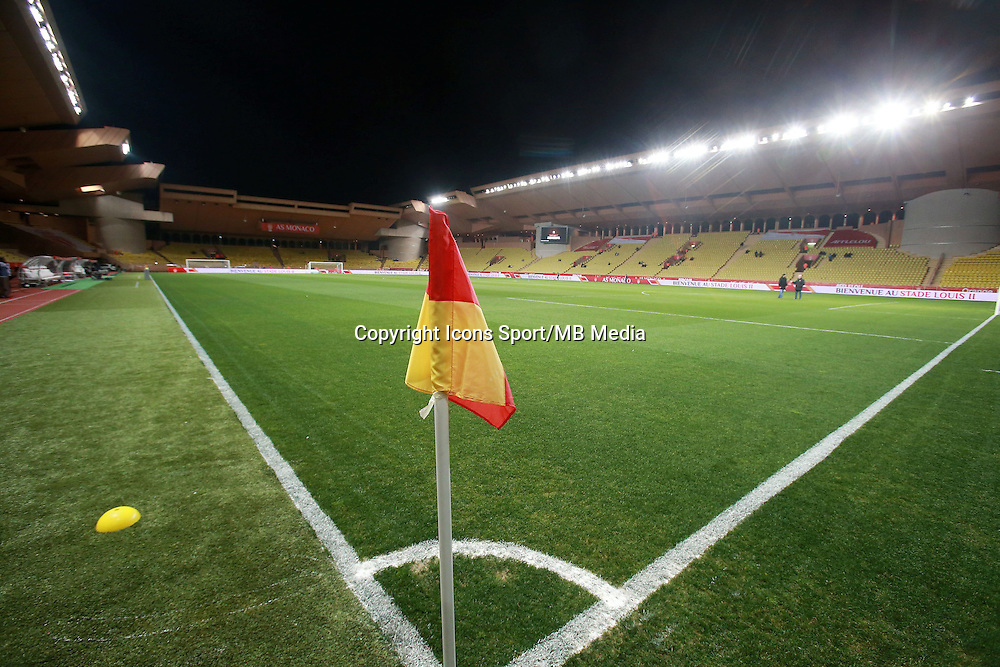 STADE LOUIS II - 13.03.2015 -   Monaco / Bastia -  29eme journee de Ligue 1 <br />