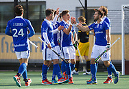 ALMERE -Hoodfklasse heren.<br /> Den Bosch v Kampong 0-4<br /> Foto: goal voor 0-1.<br /> WORLDSPORTPICS COPYRIGHT FRANK UIJLENBROEK