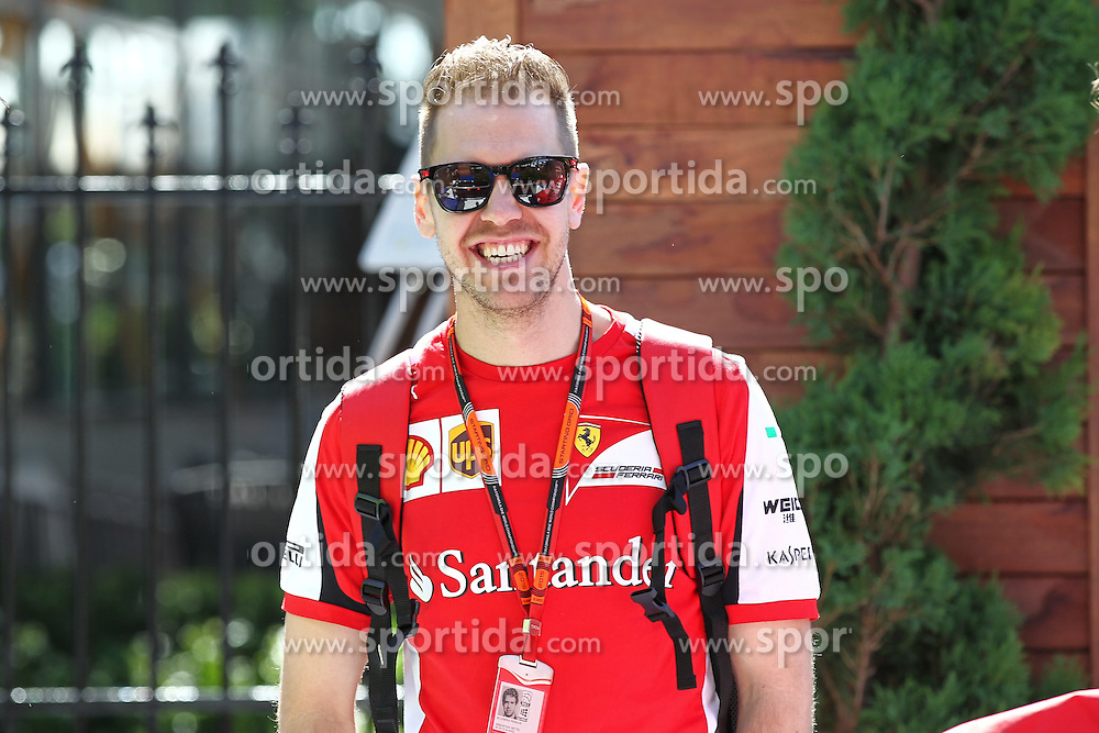 11.03.2015, Albert Park Circuit, Melbourne, AUS, FIA, Formel 1, Grand Prix von Australien, Vorberichte, im Bild Sebastian Vettel (GER) Scuderia Ferrari // during Preparations for the FIA Formula One Grand Prix of Australia at the Albert Park Circuit in Melbourne, Australia on 2015/03/11. EXPA Pictures &copy; 2015, PhotoCredit: EXPA/ Sutton Images/ Mirko Stange Images<br /> <br /> *****ATTENTION - for AUT, SLO, CRO, SRB, BIH, MAZ only*****
