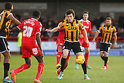 Port Vale's Louis Dodds on the ball during the Sky Bet League 1 match between Crawley Town and Port Vale at Broadfield Stadium, Crawley, England on 20 December 2014. Photo by Phil Duncan.