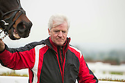 Navan Races, Saturday 27th February 2016.<br /> Owner & Trainer of Last Garrison, Nigel carolan<br /> Photo: David Mullen /www.cyberimages.net / 2016