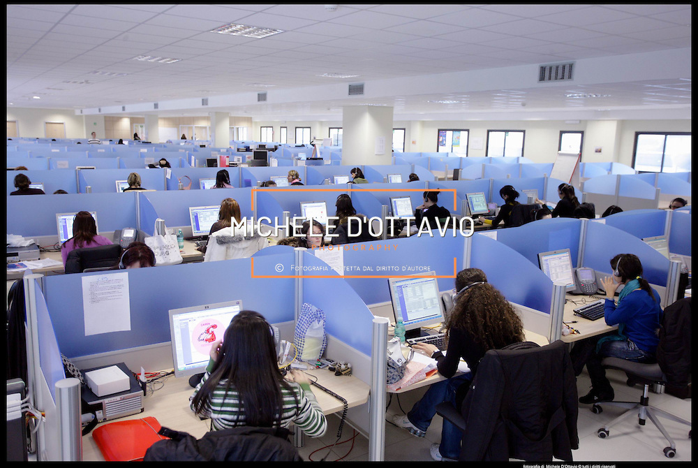 Call center Comdata sede di Olbia