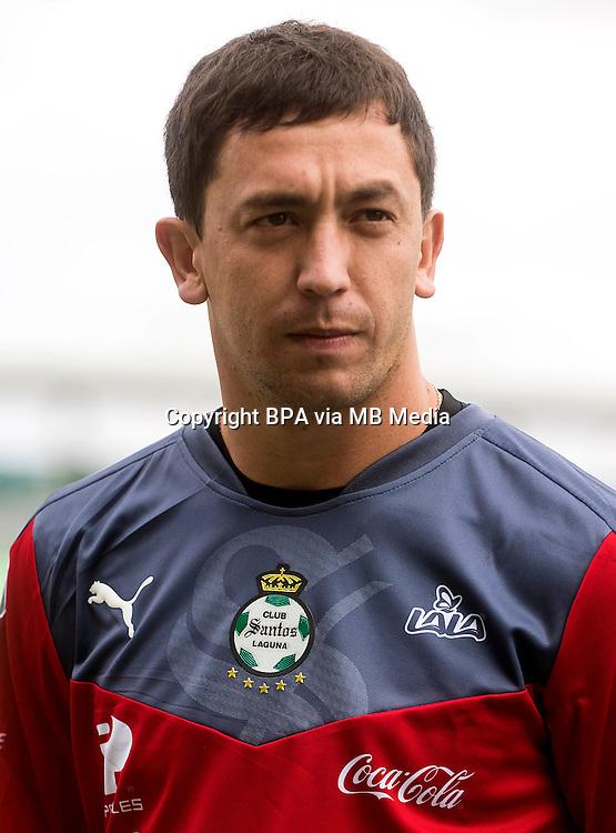 Mexico League - BBVA Bancomer MX 2015-2016 - <br /> Verdiblancos - Club Santos Laguna / Mexico - <br /> Agustin Federico Marchesin