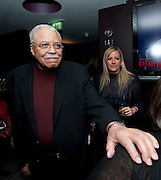 JAMES EARL JONES, The Centrepoint Paramount Club afterparty following the press night of 'Cat On A Hot Tin Roof', at the Novello Theatre, Aldwych, London.  1 December 2009