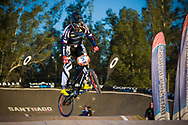 # 3 (LABOUNKOVA Romana) CZE at the UCI BMX Supercross World Cup in Santiago del Estero, Argintina.