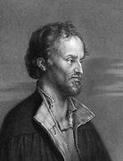 Philip Melancthon  (Schwarzerd) 1497-1560: German Protestant reformer. 1836 engraving after Durer.