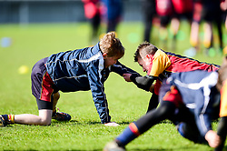 Super Saturday camp prior to kick off - Mandatory by-line: Ryan Hiscott/JMP - 27/04/2019 - RUGBY - Sandy Park - Exeter, England - Exeter Chiefs v Harlequins - Gallagher Premiership Rugby