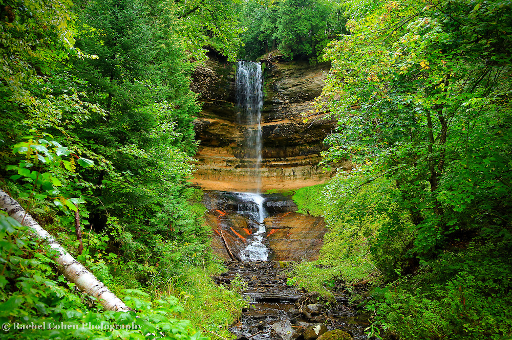 &quot;Munising Falls&quot; 2<br /> <br /> A beautiful view of scenic Munising Falls, located near Pictured Rocks National Lake Shore in Michigan's Upper Peninsula!!<br /> <br /> Waterfalls by Rachel Cohen