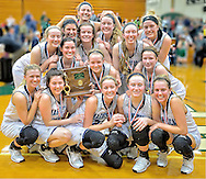 Magnificat vs. Westlake girls varsity basketball on March 6, 2015. Images © David Richard and may not be copied, posted, published or printed without permission.