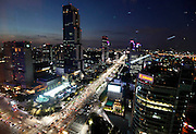 Part of Gangnam area is seen in Seoul October 7, 2012. Gangnam is the most upmarket neighbourhood in the South Korean capital. /Lee Jae-Won