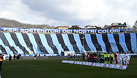 Bergamo Stadio Atleti Azzurri d'Italia 05-03-2017 Football Calcio Serie A 2016/2017 Atalanta - Fiorentina foto Daniele Buffa/Image Sport/Insidefoto<br /> coreografia tifosi Atalanta Supporters
