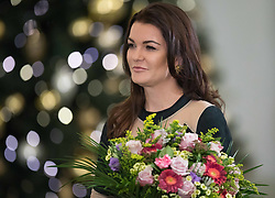 January 11, 2019 - Warsaw, Poland - Tennis player Agnieszka Radwanska after the award ceremony of the Order of Polonia Restituta from Polish President Andrzej Duda (not In Picture) in Warsaw, Poland, on 11 January 2019. (Credit Image: © Foto Olimpik/NurPhoto via ZUMA Press)
