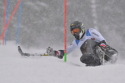 WALLNER Simon LW10-1 AUT at 2018 World Para Alpine Skiing World Cup slalom, Veysonnaz, Switzerland