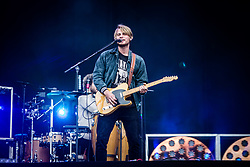 June 17, 2018 - Landgraaf, Limburg, Netherlands - Antonio Greger of Milky Chance performing live at Pinkpop Festival 2018 in Landgraaf Netherlands  (Credit Image: © Roberto Finizio/NurPhoto via ZUMA Press)