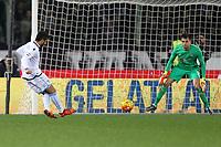 """Il gol del 3-1 di Felipe Anderson Lazio<br /> Goal Celebration Lazio<br /> Firenze 09-01-2016 Stadio """"Artemio Franchi""""<br /> Football Calcio 2015/2016 Serie A <br /> Fiorentina-Lazio<br /> Foto Luca Pagliaricci / Insidefoto"""
