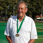 Phillip Higgs, Australia, Semi Finalist, 65 Mens doubles competition during the 2009 ITF Super-Seniors World Team and Individual Championships at Perth, Western Australia, between 2-15th November, 2009
