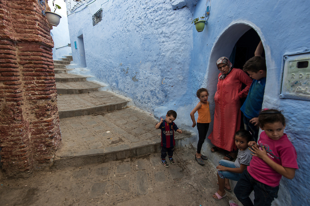 Inside the ancient Medinah of Chefchaouen