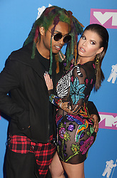August 20, 2018 - New York City, New York, U.S. - Rapper  CHANEL WEST COAST and GUEST attend the arrivals for the 2018 MTV 'VMAS' held at Radio City Music Hall. (Credit Image: © Nancy Kaszerman via ZUMA Wire)