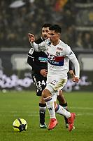 SOCCER : Bordeaux vs Lyon - Day 23 French L1 - Bordeaux - 01/28/2018<br /> Houssem Aouar (ol)<br /> Norway only