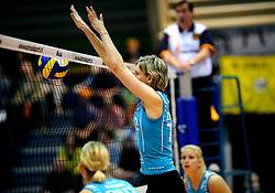 26-04-2008 VOLLEYBAL: DELA MARTINUS - AMVJ: AMSTELVEEN<br /> Martinus landskampioen 2007-2008 - Ingrid Visser<br /> &copy;2008-WWW.FOTOHOOGENDOORN.NL