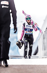 22.02.2019, Bergiselschanze, Innsbruck, AUT, FIS Weltmeisterschaften Ski Nordisch, Seefeld 2019, Skisprung, Herren, im Bild Roman Koudelka (CZE) // Roman Koudelka of Czech Republic during the men's Skijumping of FIS Nordic Ski World Championships 2019. Bergiselschanze in Innsbruck, Austria on 2019/02/22. EXPA Pictures © 2019, PhotoCredit: EXPA/ JFK
