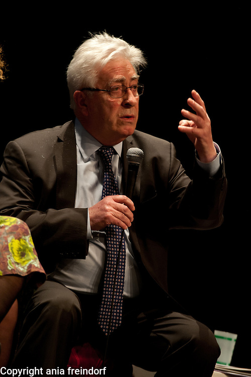 """Conference """"Fukushima, nuclear accident - four years later"""", Green Cross Paris, France, Christian Bataille, Member of French Parlament,"""