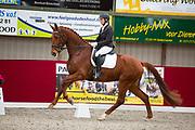 Betty Cox - Mangohall vd Kampert<br /> Horsefood Dressuur Talent 2017<br /> © DigiShots - Robin Artz