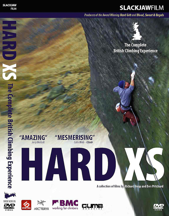 DVD cover for Slackjaw  Film's long-awaited sequel to Hard Grit