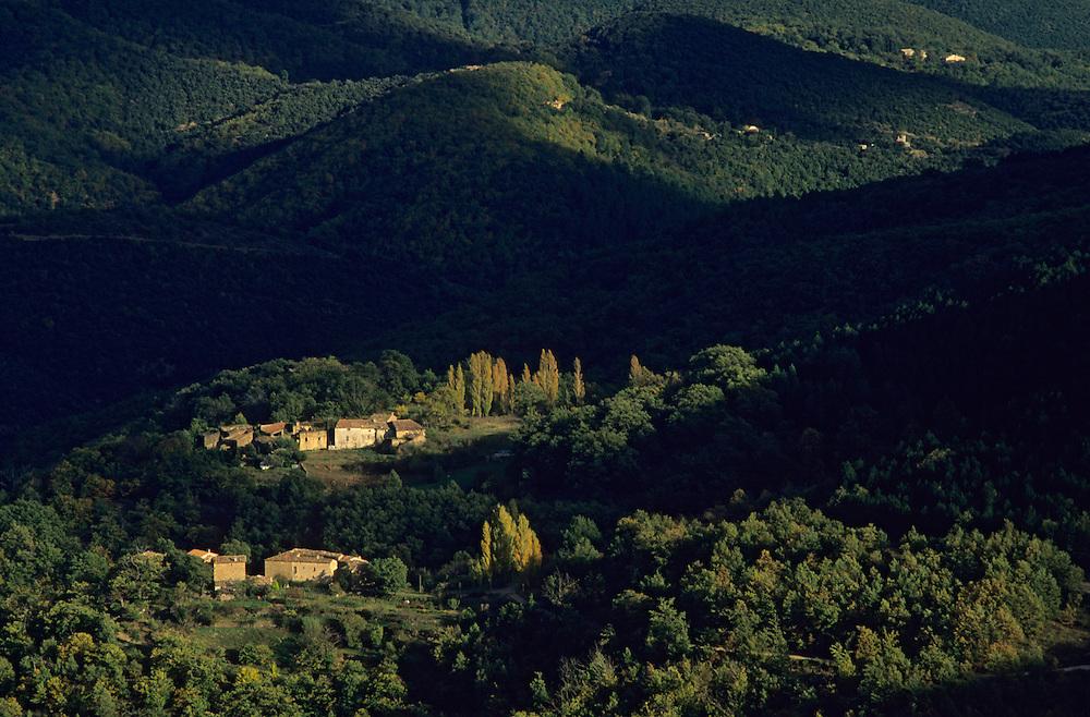 France, languedoc Roussillon, Gard, Cévennes, haute vallée du Vidourle