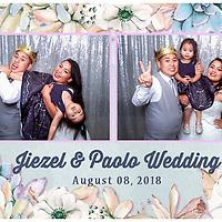 Jiezel & Paolo Wedding PhotoBooth